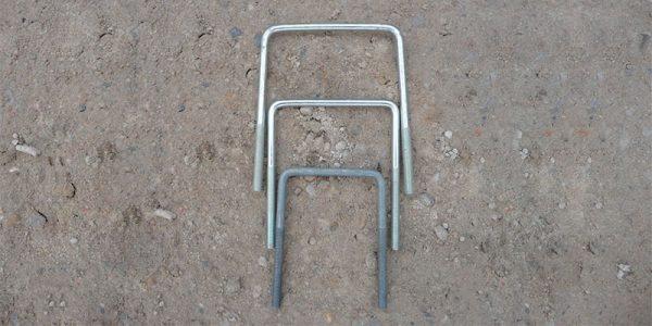 Gestell aus Stahl