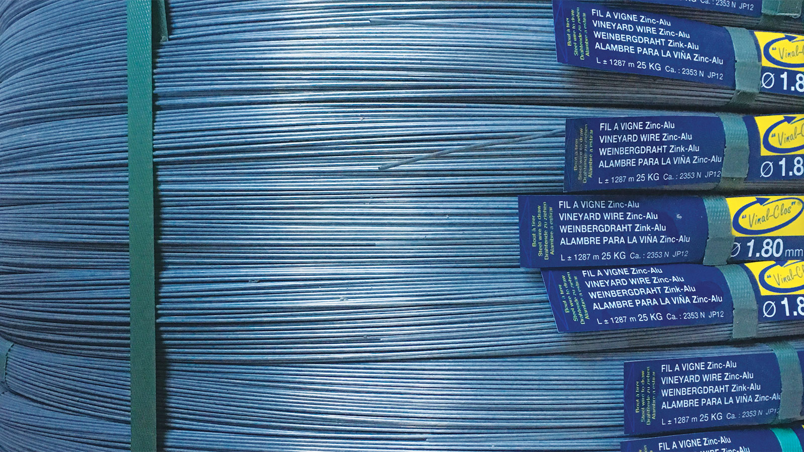 """Vinal-Clos""® Zinc-coated wires"