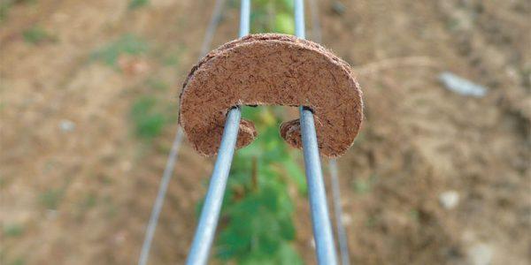 Gancio biodegradabile per unione fili