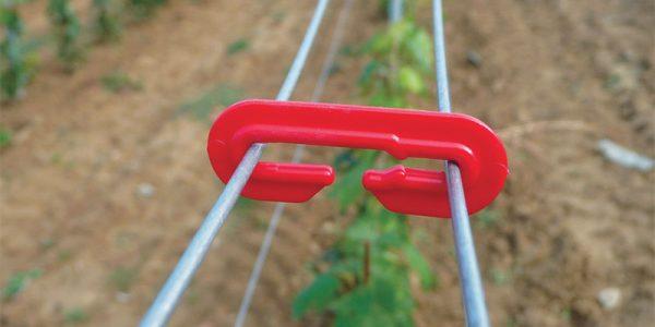 Haken PVC zum Verbinden von Drähten
