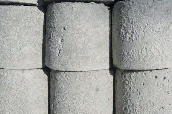 Cast-cement poles